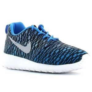 Summer Nike Roshe One Flight Weight Blue Traners